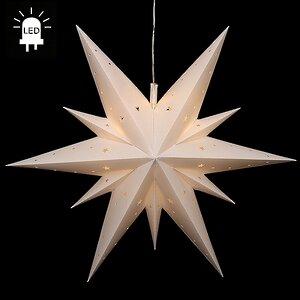 Светильник подвесной Звезда Вифлеемская 60 см белая, LED подсветка