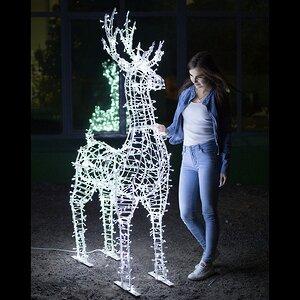 Светящийся олень Скакун 190 см